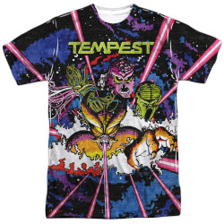 Image for Atari Sublimated T-Shirt - Tempest Key Art 100% Polyester