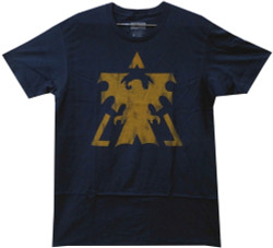 Image for Starcraft II Terran Vintage Logo T-Shirt