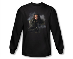 Image Closeup for The Hobbit Thorin Oakenshield long sleeve T-Shirt HOB1061-AL