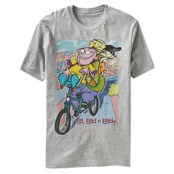Image for Ed Edd n Eddy Eds on Bike Heather T-Shirt
