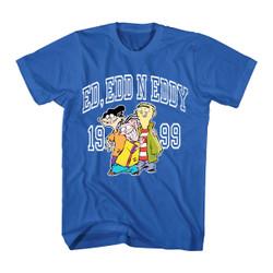 Image for Ed Edd n Eddy Collegiate Eds T-Shirt