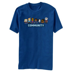 Image for Community 8 Bit T Shirt