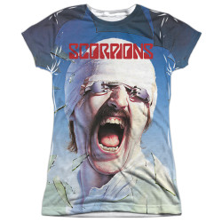 Image for Scorpions Girls Sublimated T-Shirt - Blackout 100% Polyester
