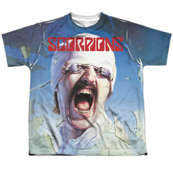 Image for Scorpions Sublimated Youth T-Shirt - Blackout