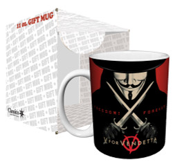 Image for V for Vendetta Freedom Forever Coffee Mug