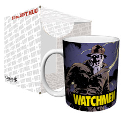 Image for The Watchmen Rorschach Comic Coffee Mug