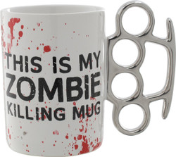 Image for The Walking Dead Coffee Mug - Knuckle Molded Handle