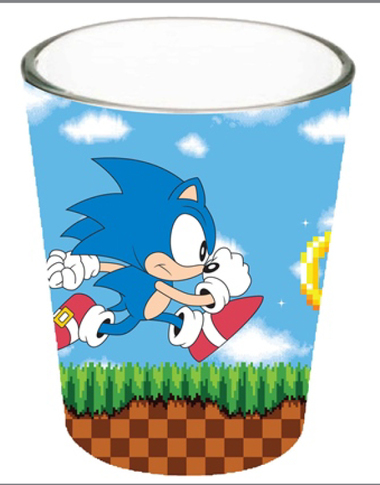 Image for Sonic the Hedgehog Shot Glass - Running
