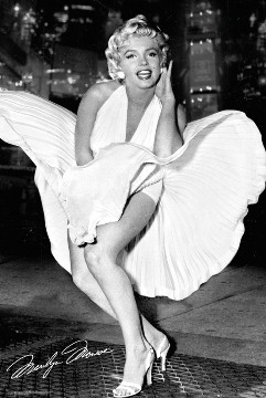 Image for Marilyn Monroe Poster - Dress