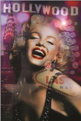 Image for Marilyn Monroe Poster - Hollywood