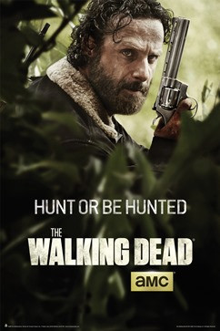 Walking Dead Poster Season 5 Rick Key Art