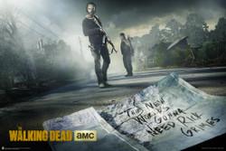 Image for Walking Dead Poster - Season 5 Key Art