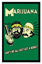 Image for Cheech and Chong Poster - Get a Bong