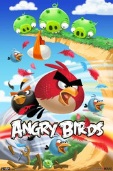 Image for Angry Birds Poster - Attack