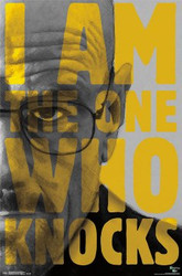 Image for Breaking Bad Poster - I am the One Who Knocks