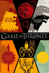 Image for Game of Thrones Poster - Sigils