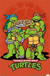 Image for Teenage Mutant Ninja Turtles Poster - Pizza