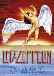 Image for Led Zeppelin Poster - Swansong