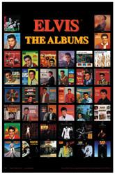 Image for Elvis Poster - Through the Years