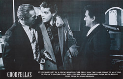 Image for Goodfellas Poster - Murderers Come With Smiles