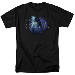 Image for Star Trek Beyond T-Shirt - Galaxy Logo