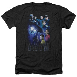 Image for Star Trek Beyond Heather T-Shirt - Cast