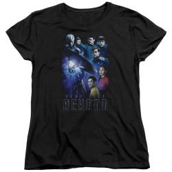 Image for Star Trek Beyond Womans T-Shirt - Cast