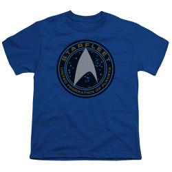Image for Star Trek Beyond Youth T-Shirt - Starfleet Patch