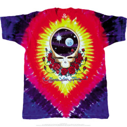Image for Grateful Dead - Space Your Face Tie-Dye T-Shirt