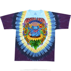 Image for Grateful Dead - Guru Bear Tie-Dye T-Shirt