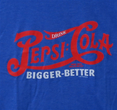 Image for Pepsi Cola Bigger Better T-Shirt