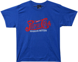 Image Closeup for Pepsi Cola Bigger Better T-Shirt