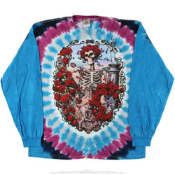 Image for Grateful Dead - 30th Anniversary Tie-Dye Long Sleeve T-Shirt