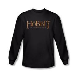 Image for The Hobbit Desolation of Smaug Logo long sleeve T-Shirt