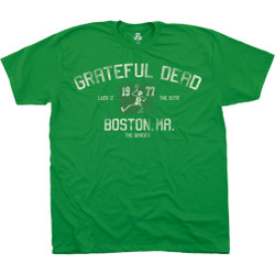 Image for Grateful Dead - The Garden Green Athletic T-Shirt