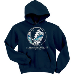 Image for Grateful Dead - Steal Your Sky And Space Navy Hoodie