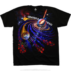 Image for Grateful Dead - Steal Your Orbit Black T-Shirt