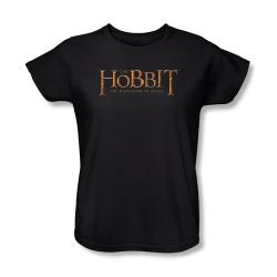 Image for The Hobbit Womens T-Shirt - Desolation of Smaug Logo