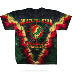Image for Grateful Dead - Montego Bay Tie-Dye T-Shirt