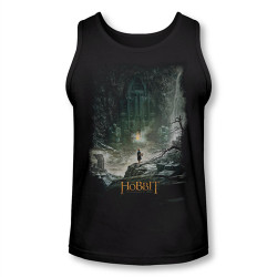 Image for The Hobbit Desolation of Smaug at Smaug's Door Tank Top