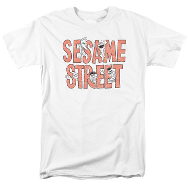 Image for Sesame Street T-Shirt - In Letters