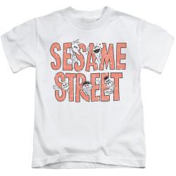 Image for Sesame Street Kids T-Shirt - In Letters