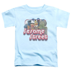 Image for Sesame Street Toddler T-Shirt - Groovy Group