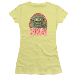 Image for Sesame Street Girls T-Shirt - Oscar the Grouch