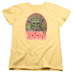 Image for Sesame Street Womans T-Shirt - Oscar the Grouch