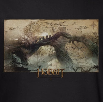 Image for The Hobbit Desolation of Smaug Epic Journey T-Shirt