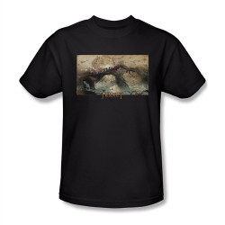 Image Closeup for The Hobbit Desolation of Smaug Epic Journey T-Shirt