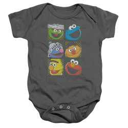 Image for Sesame Street Baby Creeper - Group Squares