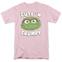 Image for Sesame Street T-Shirt - Oscar Cute 'n Grumpy