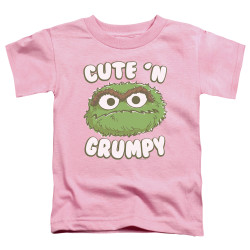 Image for Sesame Street Toddler T-Shirt - Oscar Cute 'n Grumpy